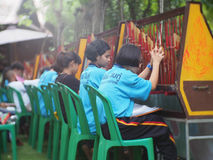 Instrumento de música tailandês transitório Imagem de Stock