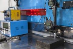 Instrumento de medição preciso, micrômetro Imagem de Stock Royalty Free