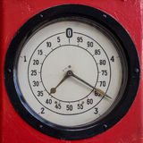 Instrumento de medição retro Imagens de Stock Royalty Free