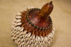 Instrumento del africano de Shekere Fotografía de archivo