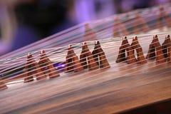 Instrumento del Koto Fotos de archivo libres de regalías