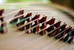 Instrumento del Koto Imagenes de archivo