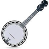 Instrumento do violino do banjo Fotografia de Stock Royalty Free