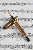 Instrumento fino da escrita Imagens de Stock Royalty Free