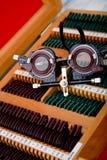 Instrumento médico da oftalmologia Imagem de Stock Royalty Free