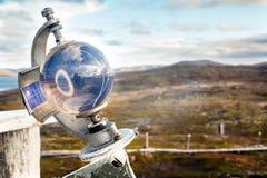 Instrumento meteorológico para la medida Rusia de la capa de nubes Foto de archivo libre de regalías