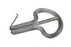 Instrumento musical antiguo - arpa del `s del judío Fotos de archivo libres de regalías