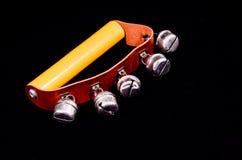 Instrumento musical de las campanas de mano para sonar Fotografía de archivo libre de regalías