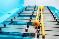 Instrumento musical del Glockenspiel Fotos de archivo libres de regalías