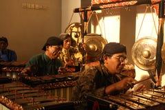 Instrumento musical tradicional indonésio Imagens de Stock