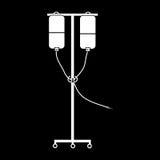 Instrumento para a transfusão e as medicinas de sangue Foto de Stock Royalty Free