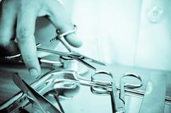 Instrumento quirúrgico Fotografía de archivo libre de regalías