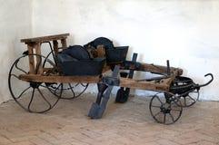 Instrumento viejo de la granja fotos de archivo libres de regalías