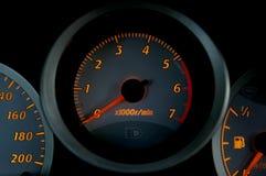 Instrumentos 02 del coche Foto de archivo libre de regalías