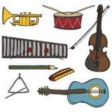 Instrumentos stock de ilustración