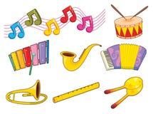 Instrumentos ilustração do vetor
