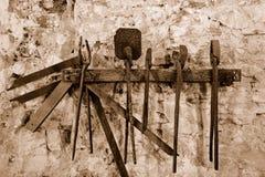 Instrumentos antigos Imagens de Stock