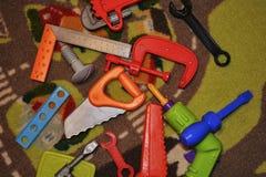 Instrumentos coloridos de par en par Foto de archivo libre de regalías