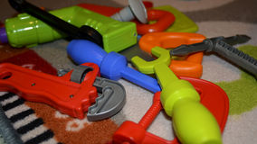 Instrumentos coloridos nar Fotografía de archivo