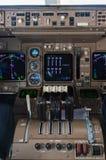 Instrumentos da cabina do piloto do avião Imagens de Stock Royalty Free