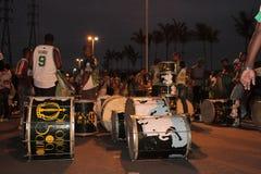 Instrumentos da preparação da samba Imagem de Stock Royalty Free