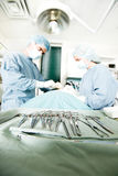 Instrumentos de la cirugía Imagenes de archivo