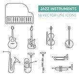 Instrumentos de música Imagen de archivo