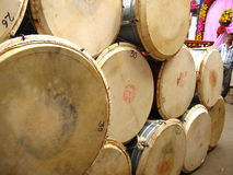 Instrumentos de música de Indain imagens de stock royalty free