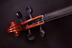 Instrumentos de música do violino Fotografia de Stock Royalty Free