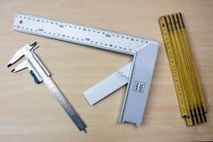 Instrumentos de medição dos instrumentos de medição Imagem de Stock Royalty Free