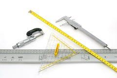 Instrumentos de medida Foto de archivo libre de regalías