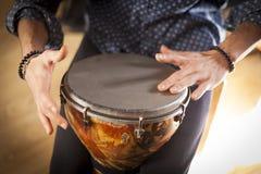 Instrumentos de percussão e conceito do musicology fotografia de stock royalty free
