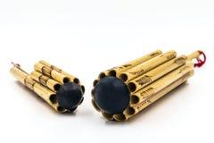Instrumentos de sopros tailandeses Fotografia de Stock