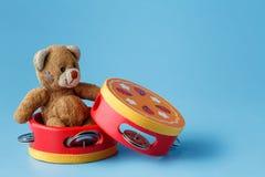 Instrumentos de Toy Musical fotografía de archivo libre de regalías