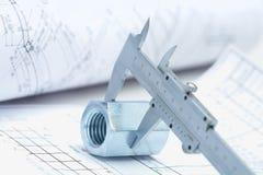 Instrumentos de trabalho imagens de stock royalty free
