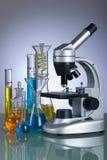 Instrumentos del laboratorio Foto de archivo libre de regalías