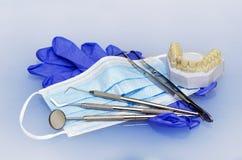 Instrumentos dentais Fotografia de Stock