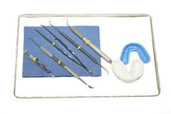Instrumentos do dentista Foto de Stock