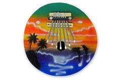 Instrumentos do espiritual do piano do polegar Fotografia de Stock Royalty Free
