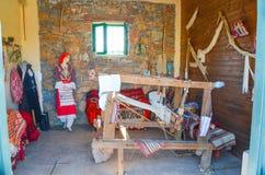 Instrumentos do parque do jardim zoológico de Lasinthos Eco Imagens de Stock Royalty Free