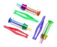 Instrumentos médicos do brinquedo Foto de Stock