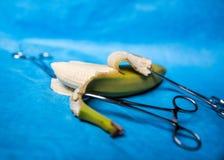 Instrumentos médicos quirúrgicos Foto de archivo libre de regalías