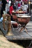 Instrumentos musicais Imagens de Stock Royalty Free