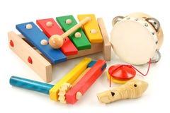 Instrumentos musicais Fotografia de Stock Royalty Free