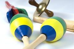 Instrumentos musicales Fotografía de archivo libre de regalías