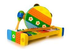 Instrumentos musicales Fotos de archivo libres de regalías