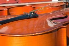 Instrumentos musicales de París del mercado antiguo al aire libre Imagenes de archivo