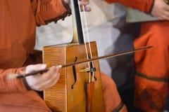 Instrumentos musicales orientales Foto de archivo