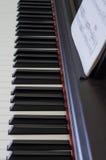 Instrumentos musicales: piano (1) Foto de archivo libre de regalías