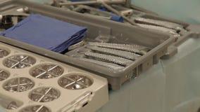 Instrumentos para la cirugía prostética metrajes